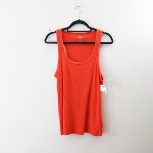 ❌SOLD❌aerie Real Soft Coral Cotton Tank Top, L